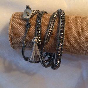 Jewelry - Swarovski crystal wrap bracelet